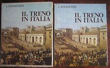 IL TRENO IN ITALIA- L. JANNATTONI - EDITALIA 1975, ORIGINALE I EDIZIONE COMPLETA