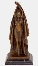 Art Deco Bronze Danseuse ANTINEA sign. c'est-à-dire Chiparus