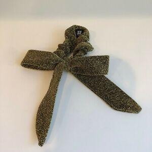 Rene Furterer Scarf Scrunchie   gold & black color   nib