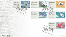 (57176) GB FDC Post and Go Mail by Air Postal Heritage London WC1X 2017