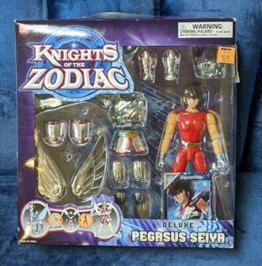 2003 Bandai Knights Of The Zodiac Deluxe Pegasus Action Figure Saint Seiya Card