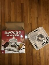 Smores Maker Dessert Station Roscho Indoor Outdoor Camping Back Yard Patio Fire