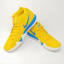 fec904a3e17 Nike Kyrie 4 Kix Cereal Pack Yellow Amarillo Blue White Sneakers Mens Size  11.5