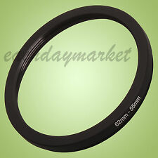 62mm to 55mm 62-55mm 62mm-55mm 62-55 mm Step Down Lens Filter Ring Adapter UK