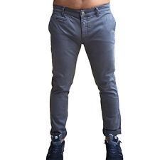 Pantalone UOMO ATTIC G386 FIFTY FOUR Grigio MAN Skinny FIT 29 30 33 38