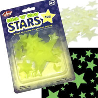 GLOW IN THE DARK STARS CHILDS BOYS GIRLS TOY BIRTHDAY GIFT PARTY BAG FILLER