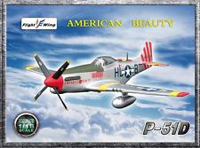"""Flight Wings 1/18 WWII P-51 """"American Beauty"""" (Pre-Built) - FW001A"""