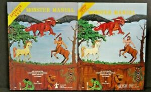 Advanced Dungeons and Dragons MONSTER MANUAL 4th edition 1979 TSR Gary Gygax LOT