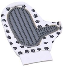 One Size Pet Soft Grooming Glove Deshedding Gentle Massage Pad Dog Cat Dirt Hair