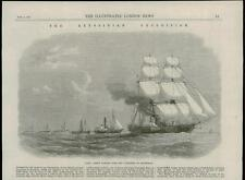 1868 - AFRICA ABYSSINIA Ethiopia Expedition HMS Argus Massowah Naval (117A)