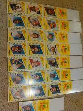 1982 Topps Squirt Baseball Complete Uncut Hanger Set (22) Rose/Brett/Schmidt  CT