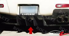 Mazda RX7 FD3S Middle Air Diverter for RE Amemiya Style Rear Diffuser USA CANADA