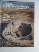 Biblical Archaeology Review March/April 2002 King Herod What Killed Him?