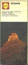 1968 Shell Arizona Vitnage Road Map