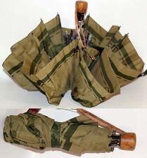 Prima Classe ombrello da borsa verde mappa Alviero Martini originale