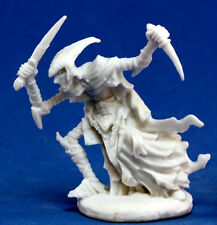 1 x ZALASH ASSASSIN ELF NOIRE - BONES REAPER figurine miniature dark d&d 77123