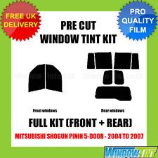 Mitsubishi SHOGUN PININ 5-door 2004-2007 Full Pre Cut Window Tint Kit