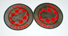 2 Happy Hobbies Raceway Sticker Decal Vintage1960's Slot Car items New Old Stock