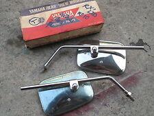 Yamaha 1978 RD50 RD50SP RX-LTD Left&Right Back Mirror NOS 2W1 Genuine Japan