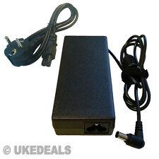 Para Sony Vaio vgn-nr38e / S Ac Adaptador 19.5 v 4.7 a PSU de la UE Chargeurs