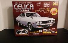 2019 Hachette Collection  1970 CELICA LB 2000GT  1/8 scale VOL. 1