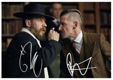 134. tom hardy & paul anderson peaky blinders SIGNED  PRINT SIZE A4
