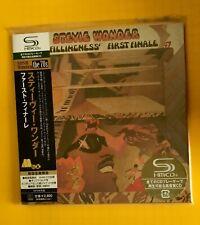 STEVIE WONDER Fulfillingness' First Finale JAPAN SHM MINI LP CD NEU UICY-93935