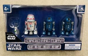 Disney Parks Droid Factory Rise of Skywalker - D-O, R5-2JE, R6-LE5 & R2-SHP BNIB