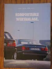 BMW - Der neue BMW 518i, komfortable Wertanlage  von 1993   (S1)