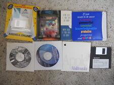 Vintage Cd-Roms & floppys for Mac/Pc assorted 1990s-2000s