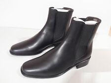 Moda Di Fausto Ladies Black Leather Sole Ankle Boot EU 35.5 UK 3 Italian