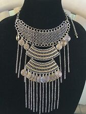 Unique Egyptian Bedouin(Tribal Style) Belly Dance Custume Necklace Handmade!!WOW