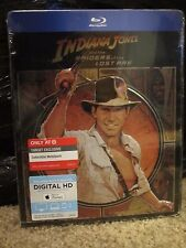 Indiana Jones Raiders of the Lost Ark Blu-Ray Digital HD Metalpak Steelbook-like