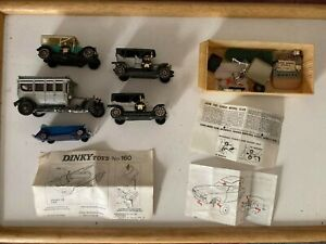 Corgi Assorted Cars Parts and Instructions