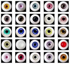 Wholesale Lot 30 Pair (8mm-24mm)Glass Eyes  for MSDOOAK SD Pullip Reborn Doll