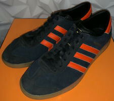 Rare Adidas Originals Hamburg Brussels. Black/Orange - UK Size 10