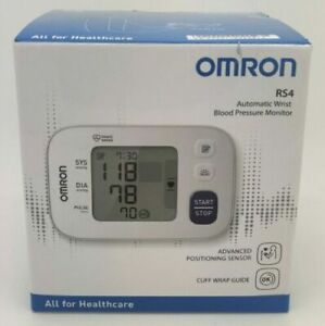 Omron RS4  Automatic Wrist Blood Pressure Monitor, Large LCD Display Brand New