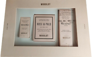 WOODLOT Rose & Palo 3-Pc. Gift Set / Everyday Mist / Candle / Essential Oil