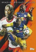 2018 Topps Major League Soccer 'Multi-Dimensional' Orange Parallel Numbered /25