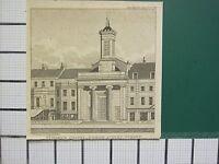 1829 Datierter Antik Aufdruck ~ St.MARK'S Kapelle North Audley Street London J P