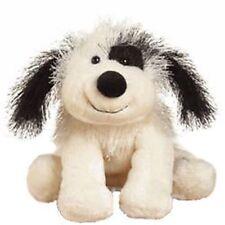 Cheeky Dog Webkinz Black & White Beanbag Plush Stuffed Dog No Code HM192