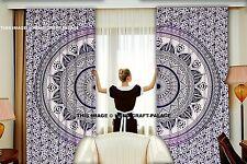 Indian Mandala Bedroom Curtains Tapestry Drapes Window Treatment Bohemian Set