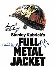 Full Metal Jacket signed Ermey Modine 8X10 photo picture poster autograph RP