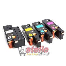 MULTIPACK 4 TONER PER EPSON ACULASER C1700 C1750N C1750W CX17 CX17NF CX17WF