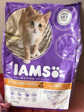 IAMS for Vitality Dry Kitten Food with Fresh Chicken, 2,55 kg