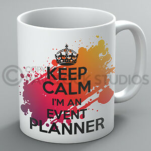 Keep Calm I'm An Event Planner Mug Events Party Planning Wedding Travel Cup Gift