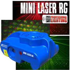 Mini Laser Light Show - Red and Green Lasers - Sound Active - Stage Light for DJ