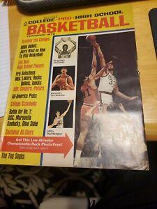 COLLEGE*PRO*HIGH SCHOOL BASKETBALL YEARBOOK 1972 LEW ALCINDER PAUL WESTPHAL...