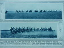 1915 RUSSIAN CAVALRY ADVANCING TO THE ATTACK WWI WW1
