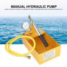 Neu 2.5Mpa 25KG Abdrückpumpe Hydraulik Befüllpumpe Manuell Wasserdruck Prüfpumpe